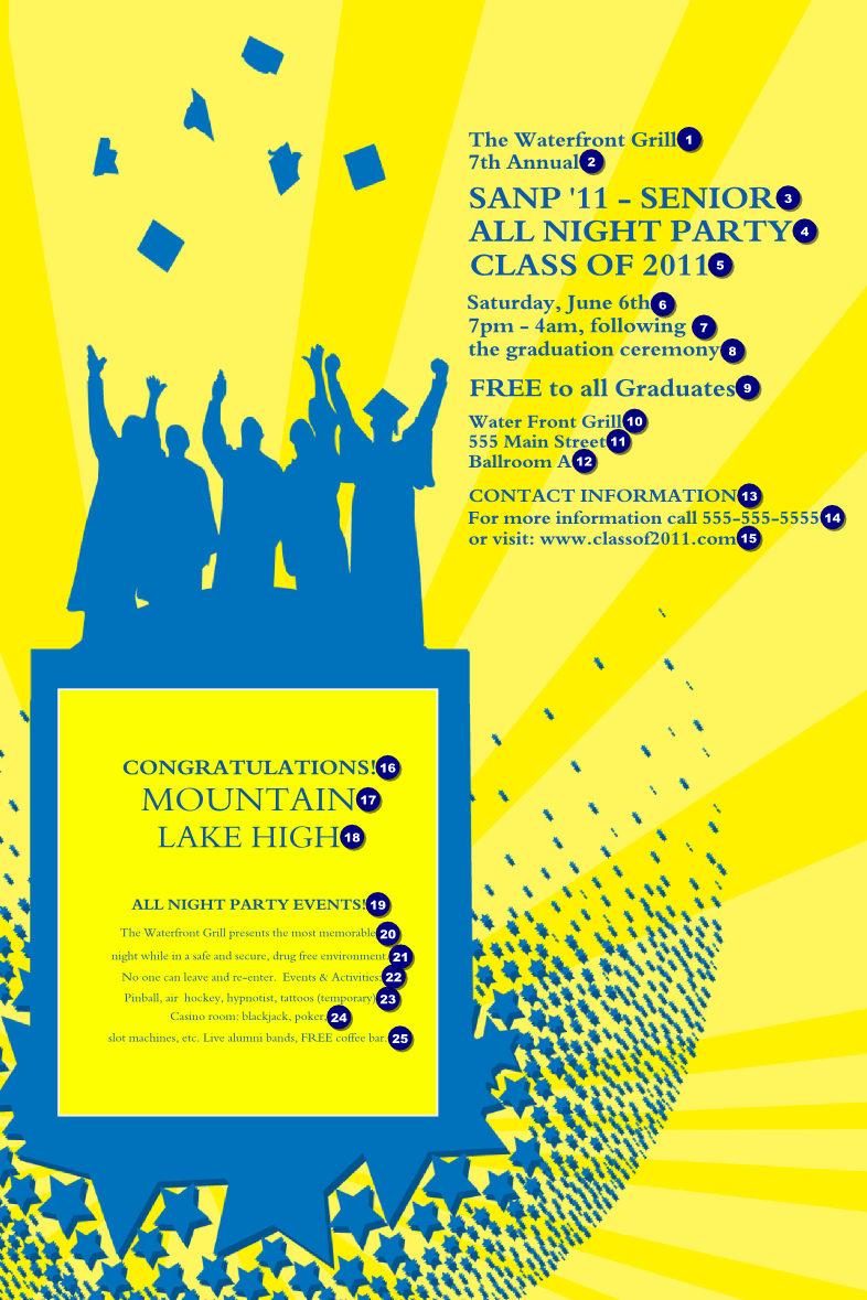 bright ideas graduation poster canada ticket printing
