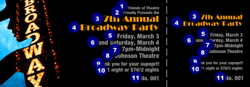 broadway event ticket canada ticket printing