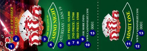 gambling tickets