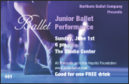 Ballet Drink Ticket