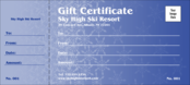 Blizzard Logo Gift Certificate
