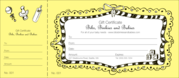 Print Gift Certificates