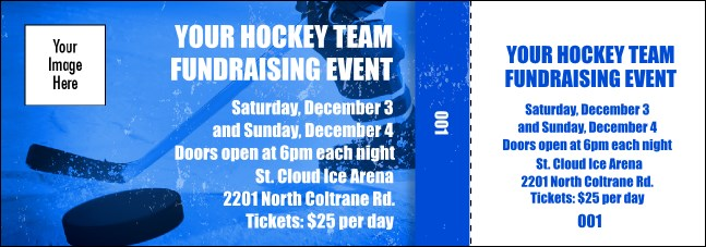Hockey Event Ticket