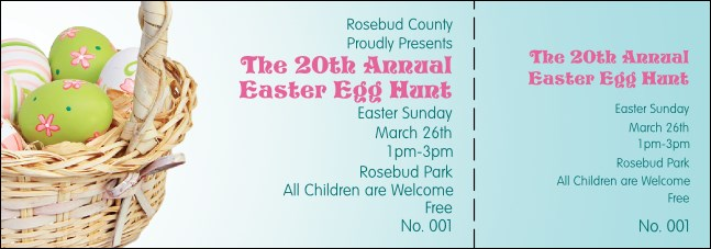 Easter Basket Event Ticket
