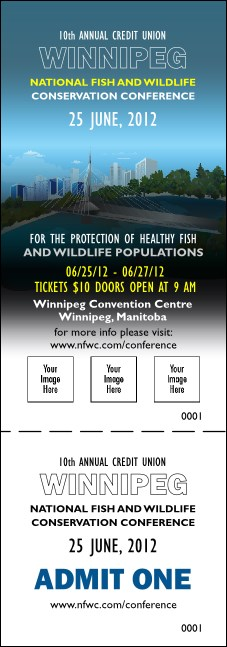 Winnipeg Event Ticket