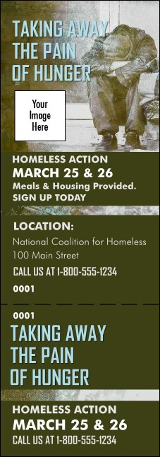 Homeless & Hungry Event Ticket