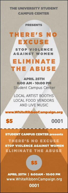 White Ribbon Event Ticket