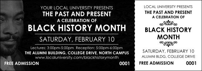 Black History Month Event Ticket