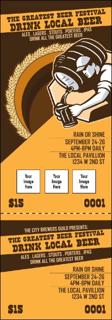 Beer Festival Artisan Event Ticket