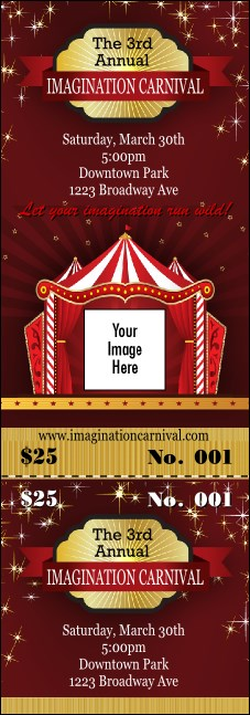 Red Tent Event Ticket