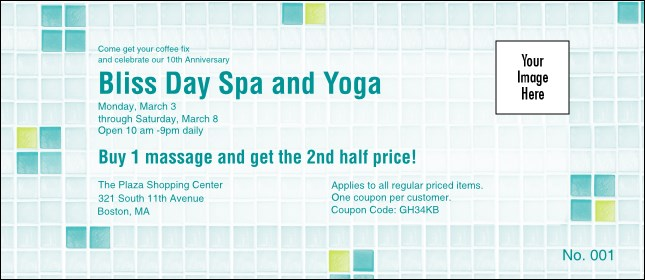 Bliss Spa Coupon 2 Product Front