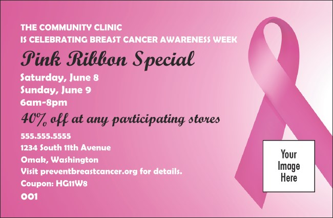 Pink Ribbon Coupon