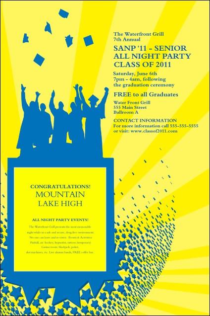 Bright Ideas Graduation Poster