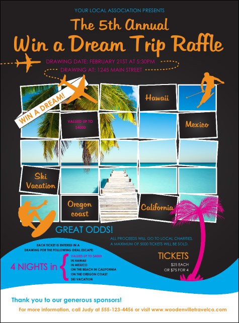 a Vacation Flyer