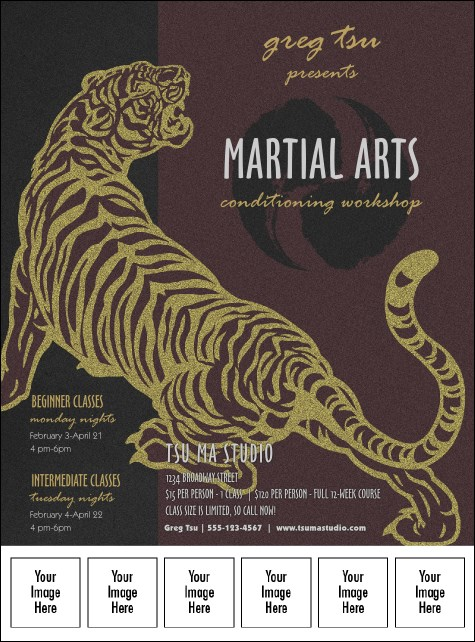 Martial Arts Logo Flyer
