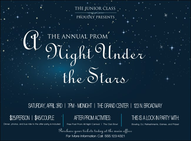 Star Theme Flyer
