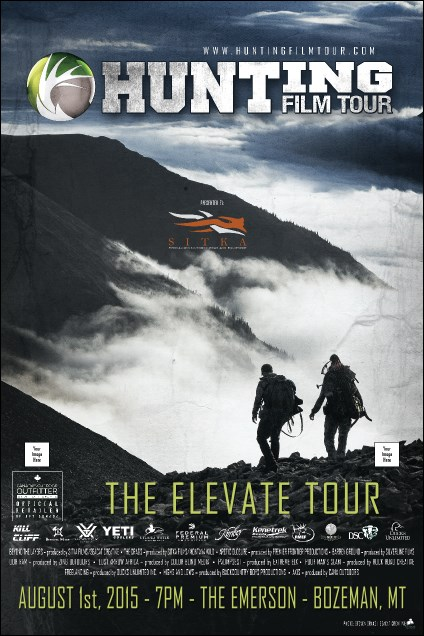 2015 Hunting Film Tour Poster