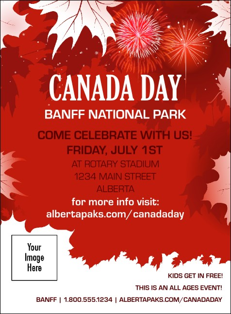 canada day invitation. Black Bedroom Furniture Sets. Home Design Ideas