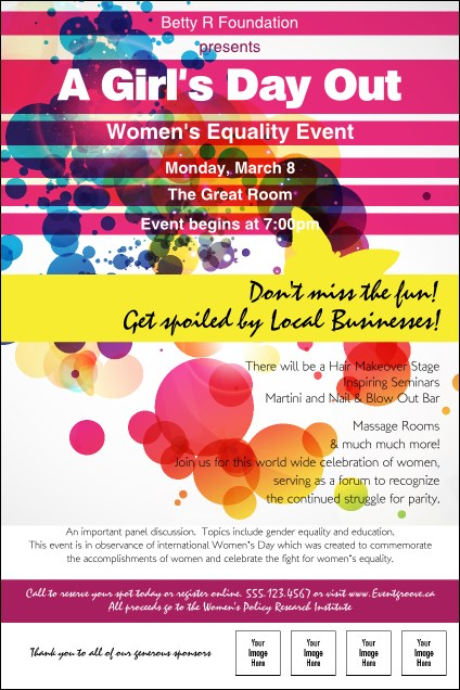 Women's Expo Abstract Invitation