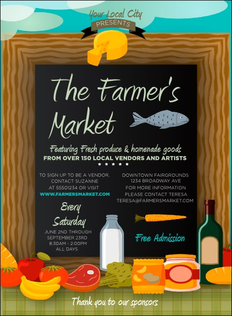 Farmer's Market Invitation
