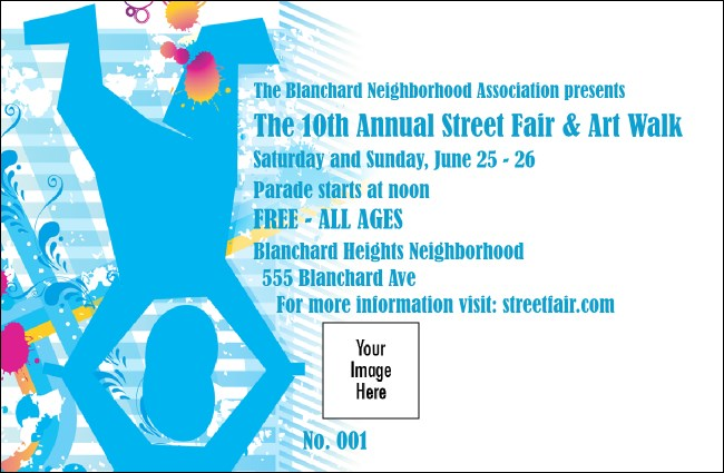 Street Fair Drink Ticket