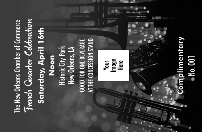 Jazz Concert BW Drink Ticket