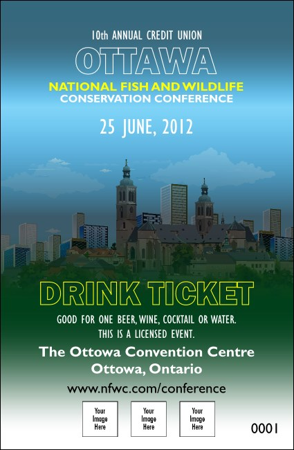 Ottawa Drink Ticket
