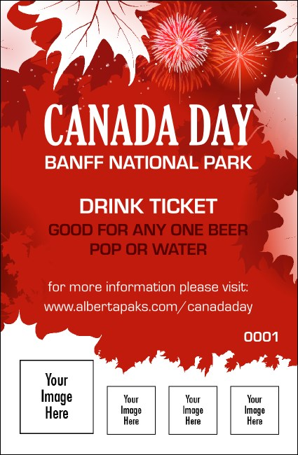 Canada Day Drink Ticket