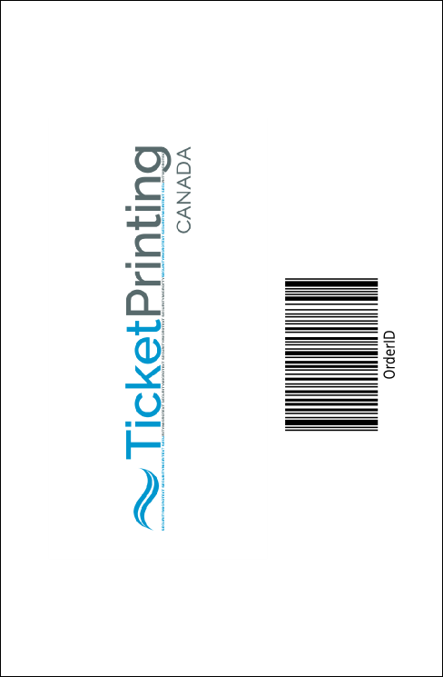 Autism Awareness Drink Ticket Product Back