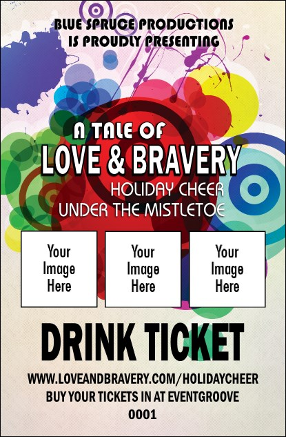 Colour Circles Drink Ticket