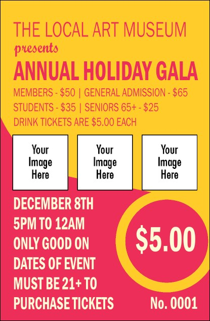 Circle Gala Drink Ticket