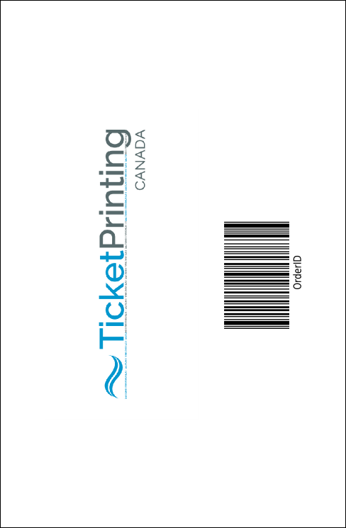Fundraiser Education Drink Ticket Product Back