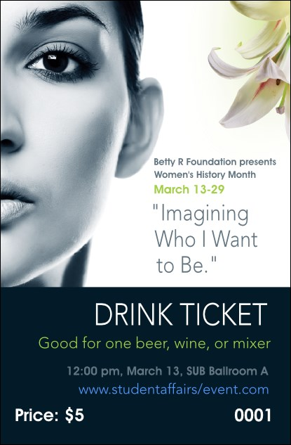 Women Expo 2 Drink Ticket