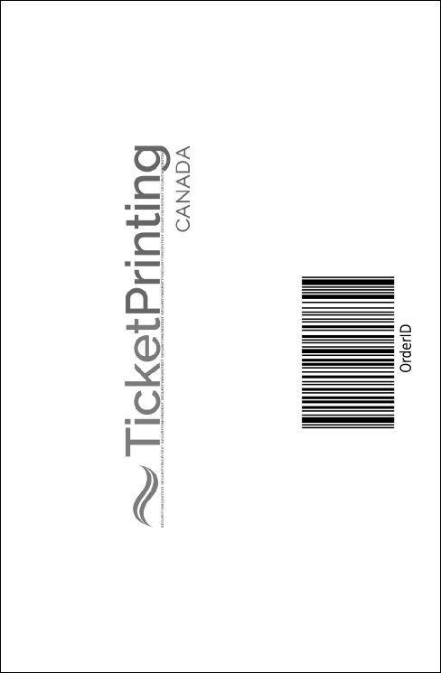 Black Tie Drink Ticket Product Back