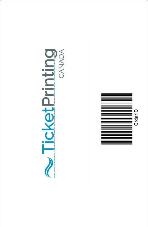 Books Drink Ticket Product Back