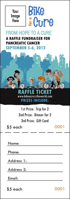 Bike for a Cause Raffle Ticket