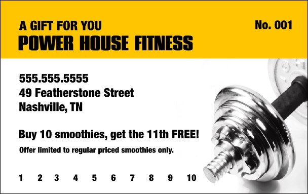Gym gift certificate template northurthwall gym gift certificate template yadclub Image collections
