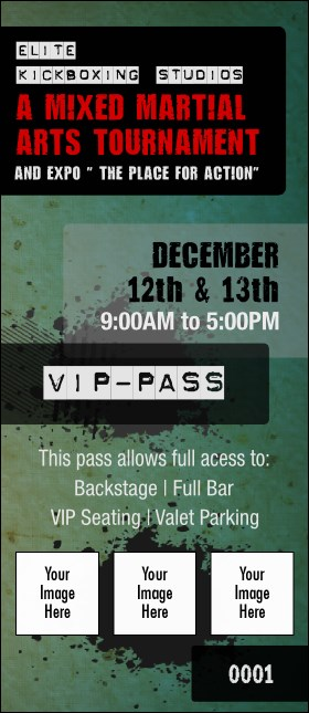 Contemporary Mixed Martial Arts VIP Pass
