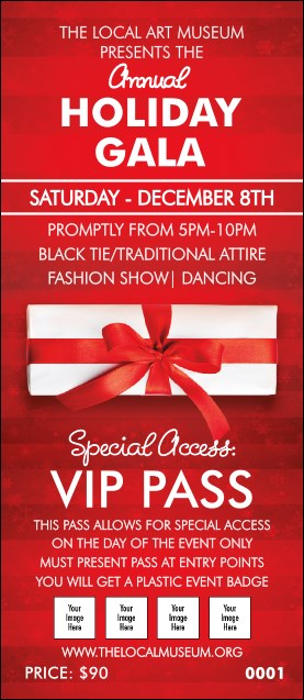 Holiday Gift VIP Pass