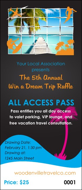 Win a Vacation VIP Pass
