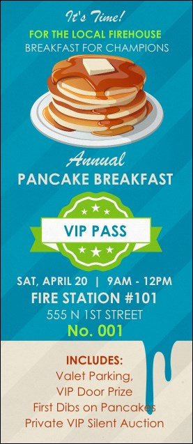 Pancake Breakfast VIP Pass
