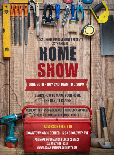 Home Improvement Invitation