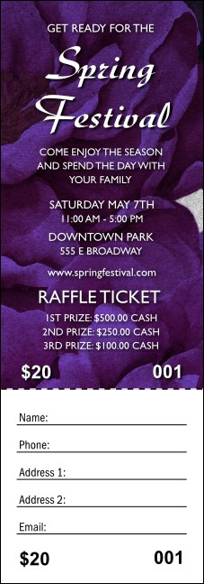 Spring Raffle Ticket