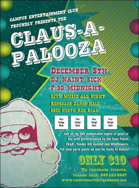 Claus-A-Palooza Flyer