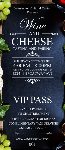 Vineyard VIP Pass