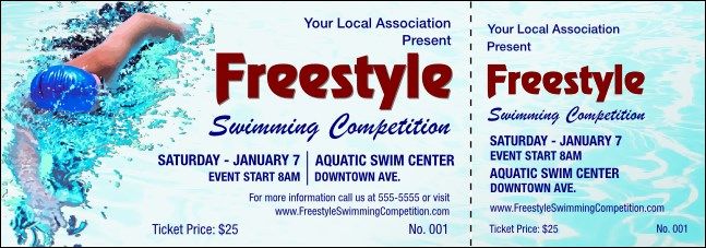 Freestyle Event Ticket